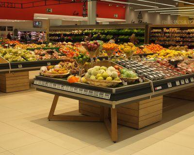 Présentoir fruits et légumes